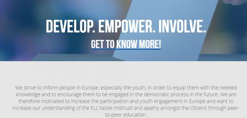 Yvote: Develop. Empower. Involve.